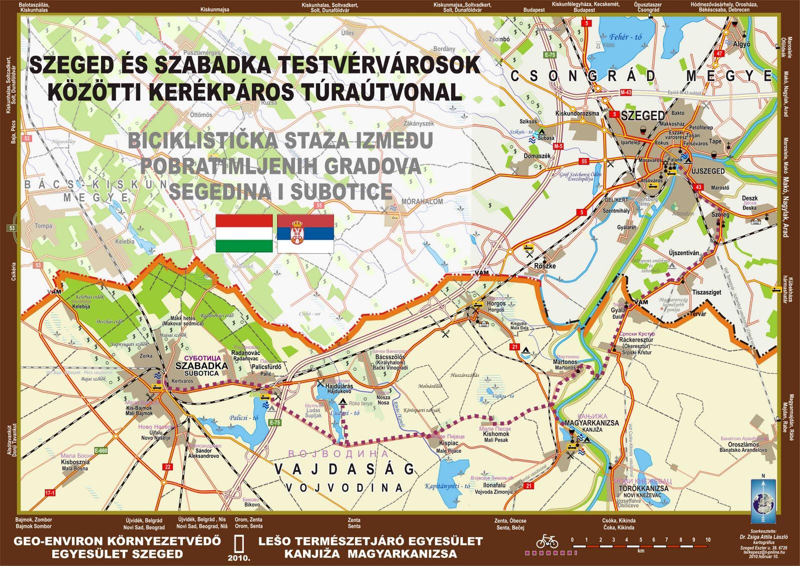 szabadka térkép Kispiac település weboldala szabadka térkép
